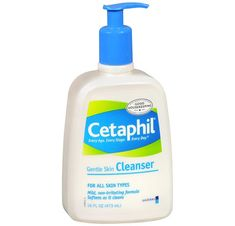 Morning cleanser. Also use an oil cleanser at night.