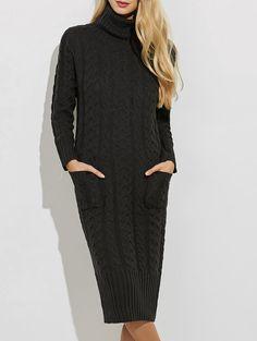 d19e94ca4b6 Sweater Dresses - Black