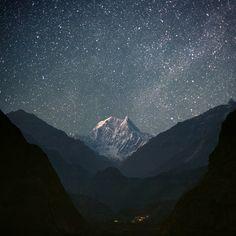 Звездное небо на Тибете