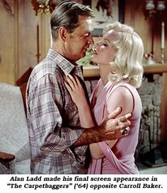 Alan Ladd Westerns   alan ladd made his final screen appearance in the carpetbaggers alan ...