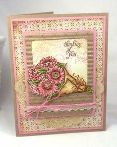 Sunny Harvest stamp set by Power Poppy. Card Design by BeckyTE.