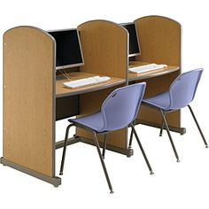 Smith System Library Carrels