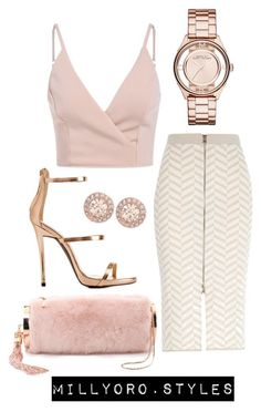 Untitled #218 by milly-oro on Polyvore featuring River Island, Charlotte Russe, Monique Lhuillier, Marc by Marc Jacobs and Givenchy