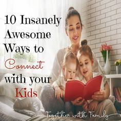 When you are looking for ways to build better relationships with your kids, you have to find ways to connect. . Thanks to these parenting tips, you'll have a closer relationship with your child. 10 Ways to Connect with Your Kids