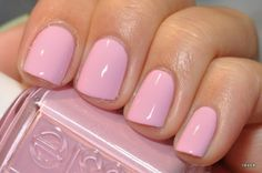 perfect pink - ok so i am NOT a fan of nail art at all!!!! i LOVE LOVE LOVE solid colors though especially pastel pink!!!