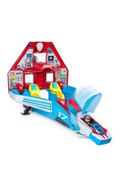 Paw Patrol, Super Paws, Transforming Mighty Pups Jet Command Center with Lights and Sounds: Toys & Games Christmas Toys, Christmas 2019, Christmas Deals, Toys For Boys, Kids Toys, Toddler Toys, Toys Uk, Mobile Command Center, Command Centers