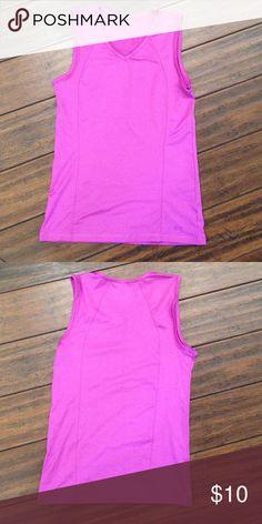 NWOT purple muscle tank! Dri fit material NWOT purple muscle tank with Dri-Fit material! Champion Tops Muscle Tees
