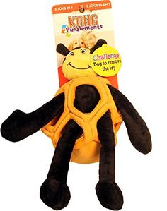 KONG Puzzlements Toy, Bee, Small *** Find out more about the great product at the image link. (This is an affiliate link and I receive a commission for the sales) Kong Company, Kong Dog Toys, Minions, Pet Supplies, Dog Lovers, Bee, Dogs, Image Link, Fictional Characters