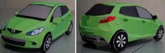 Mazda Demio Paper Model - by MKJ - via Pepakura Gallery    A really nice paper model and not hard-to-build of the Mazda Demio Japanese vehicle. This model was created by Japanese designer MKJ. To view and print this model you will need Pepakura Viewer Free Version (link at the end of this post).
