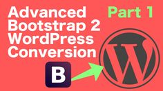 In this video we setup our next project a more advanced Bootstrap to WordPress conversion. Please leave any questions in the comments and I will try and get ...