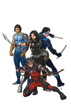 Titans by Mike Choi.