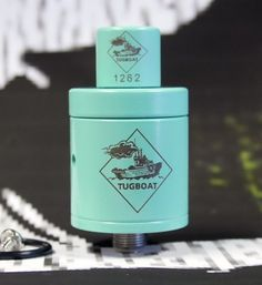 Flawless Vape Shop Tugboat V2 RDA ( Tiffany Blue ) | Mechanical Vape Mods and Supplies | Only $100.00! Vapor Source #Vape #VoomVape #Vaping