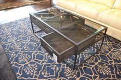 Glass Coffee Table with Storage www.lifestylescomo.com