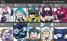 Top 10 Favourite League Champions by Coksii on DeviantArt League Of Legends, Champion, Deviantart, Tops, Shell Tops