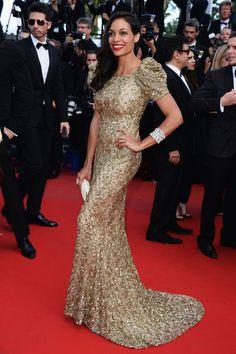Best Dressed at The 66th Annual Cannes International Film Festival: Rosario Dawson in Marchesa