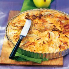 Apfel-Schalotten-Tarte