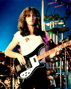 RUSH (Geddy Lee)  2013 Rock & Roll Hall of Fame Inductee ... about damn time !