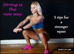 5 Tips For Better Squat | ZuzkaLight.com