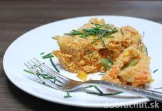Fotorecept: Zapekaný pšenový nákyp so zeleninou Mozzarella, Risotto, Grains, Rice, Chicken, Ethnic Recipes, Food, Diet, Essen