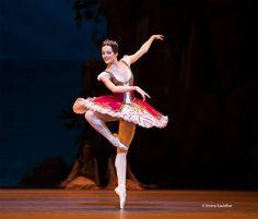 The Bolshoi Ballet's Yulia Stepanova - Photo by Emma Kauldhar