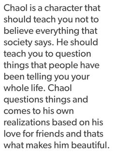 And this is why I love Chaol. No matter what anyone says. He is the most realistic and relatable character ever