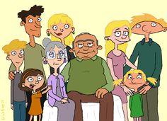 cartoon family portrait - Google Search