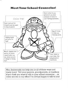 Potato Parts: Meet the Counselor