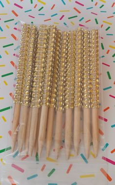 Bling Candy Apple Sticks