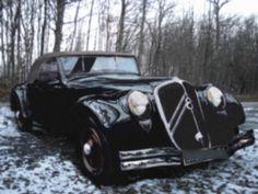 1934 Citroen Traction Avant 22CV V8 cabriolet
