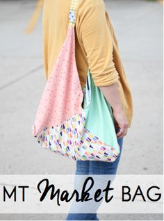 MT Market Bag - Free Tutorial for an origami bento bag.  Makes a great gift  because it's quick and only uses 6 fat quarters!