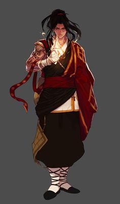 Male Fiighter - Nen Master Portrait