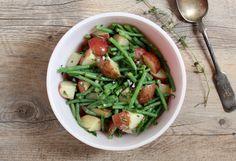 simple potato salad with lemon vinaigrette recipe | writes4food.com