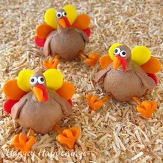Hungry Happenings: Chocolate Peanut Butter Fudge or Caramel Thanksgiving Turkey Treats