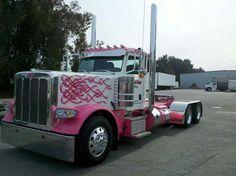 Pink Truck #CarFlash #FightBreastCancer