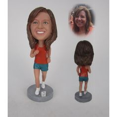 Female Runner, Guangzhou, Bobble Head, Gifts For Her, Big, Style, Fashion, Moda, Fashion Styles