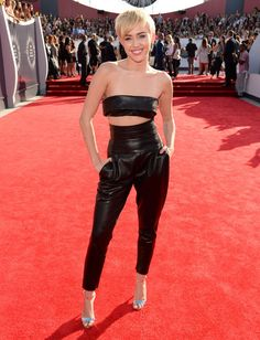 Miley Cyrus in Alexandre Vauthier at the VMAs
