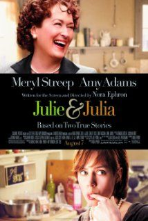 Julie & Julia (2009) Julia Child's story of her start in the cooking profession is intertwined with blogger Julie Powell's 2002 challenge to cook all the recipes in Child's first book.  (LOVED IT!)