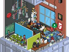 Reminds me of Habbo Hotel.