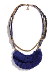 Indigo Hmong Necklace found on Zady