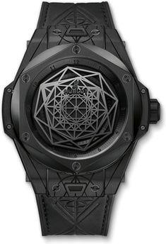 Hublot Big Bang Sang Bleu All Black 415.CX.1114.VR.MXM17 - Exquisite Timepieces