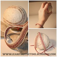 Embellishments Kids: 12 Great Baseball Decor Ideas and DIY's for Boy's Rooms and Nurseries
