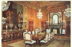Find Dining Room The Elms Newport RI Rhode Island in Postcards, U. Views, Rhode Island, Unclassified category on Playle's. Old Mansions Interior, Mansion Interior, Beautiful Space, Beautiful Homes, Mansion Kitchen, Newport Rhode Island, Newport County, Grand Homes, Home Decor Kitchen