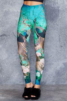 Peacocks In Spring Toasties - 48HR ($80AUD) by BlackMilk Clothing