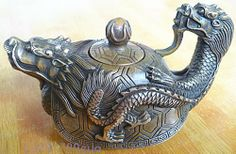 Dragon teapot.  CHINESE OLD COPPER HANDWORK DRAGON TEA POT  / Free Shiping-in Coffee & Tea Sets from Home & Garden on Aliexpress.com