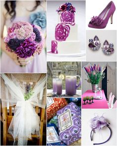 great ideas for the color purple