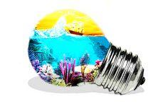 Landscape Lightbulb