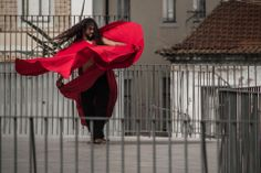 A street dance performer practices his craft on a rooftop in Lisbon's Alfama neighborhood. Photo by Trevor Fairbank from San Diego State University. - See more at: http://www.semesteratsea.org/2013/10/14/student-photo-gallery-portugal-and-spain/#sthash.N7UkpXHl.dpuf  #semesteratsea