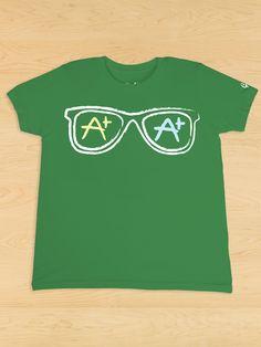 Sunglasses Green Tee