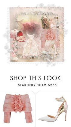 """Pink Bows"" by bren-johnson ❤ liked on Polyvore featuring Manolo Blahnik"