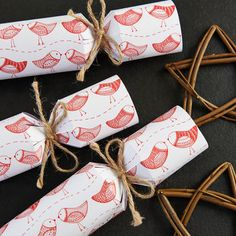 fill your own red robin christmas cracker by the cracker boutique | notonthehighstreet.com